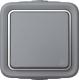 Выключатель Legrand Plexo 69711 (серый) -