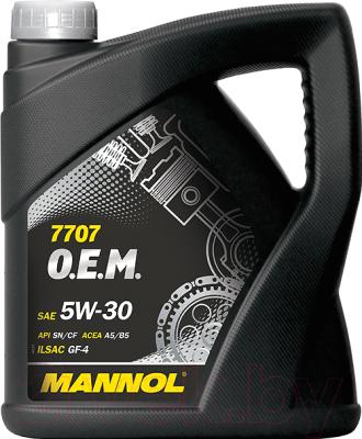 Моторное масло Mannol OEM 5W30 SN/CF / MN7707-4