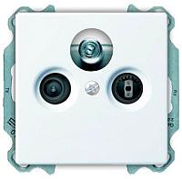 Розетка ABB Basic 55 SP610230TRIAX1S -