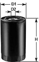 Топливный фильтр Clean Filters DN258 -