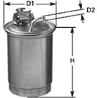 Топливный фильтр Clean Filters DN829 -