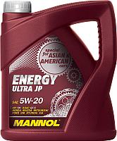 Моторное масло Mannol Energy Ultra JP 5W20 API SN / MN7906-4 (4л) -