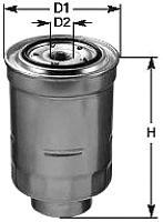 Топливный фильтр Clean Filters DN1918 -