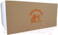 Одноразовая пеленка для животных Доброзверики С суперабсорбентом 60x60 / П60х60/150 (150шт) -