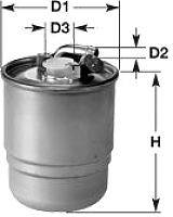 Топливный фильтр Clean Filters DN1925 -