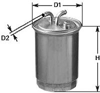 Топливный фильтр Clean Filters DN1958 -
