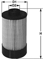 Топливный фильтр Clean Filters MG1654 -