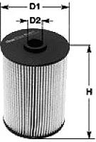 Топливный фильтр Clean Filters MG1674 -