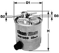 Топливный фильтр Clean Filters DN2701 -