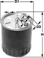Топливный фильтр Clean Filters DN2705 -