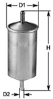 Топливный фильтр Clean Filters MG1671 -