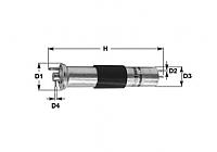 Топливный фильтр Clean Filters MBNA1531 -