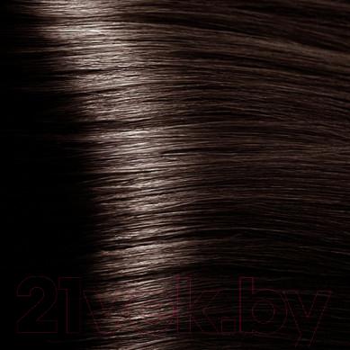 Крем-краска для волос Kapous Hyaluronic Acid с гиалуроновой кислотой 4.81 (коричневый какао пепельный)