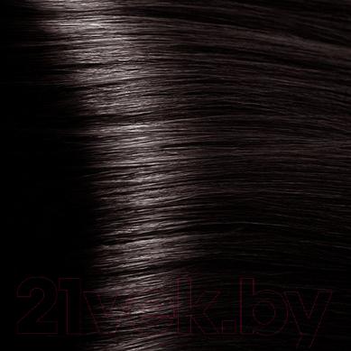 Крем-краска для волос Kapous Hyaluronic Acid с гиалуроновой кислотой 4.84 (коричневый брауни)
