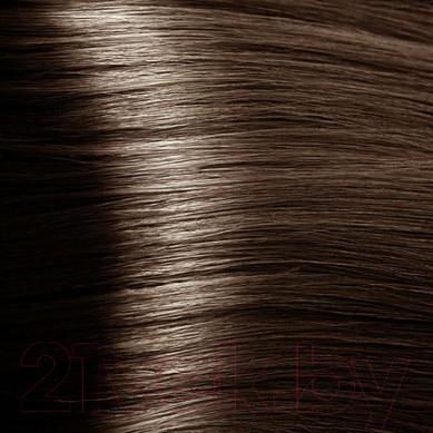 Крем-краска для волос Kapous Hyaluronic Acid с гиалуроновой кислотой 6.81 (темный блонд капучино пепельный)