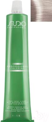 Крем-краска для волос Kapous Studio Professional с женьшенем и рисовыми протеинами 10.23 (бежевый перламутровый платиновый блонд)