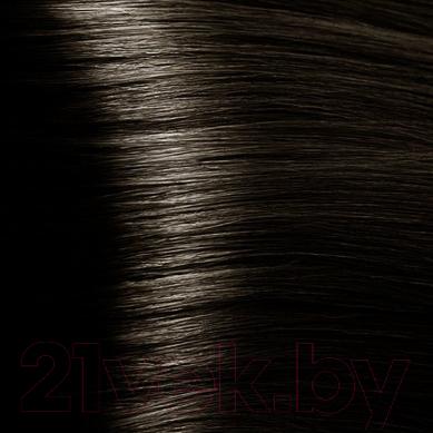 Крем-краска для волос Kapous Studio Professional с женьшенем и рисовыми протеинами 4.1 (пепельно-коричневый)