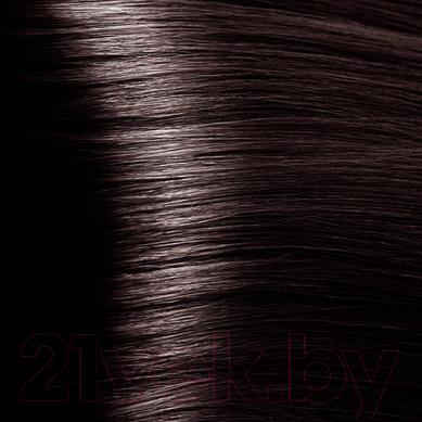 Крем-краска для волос Kapous Studio Professional с женьшенем и рисовыми протеинами 5.8 (шоколад)