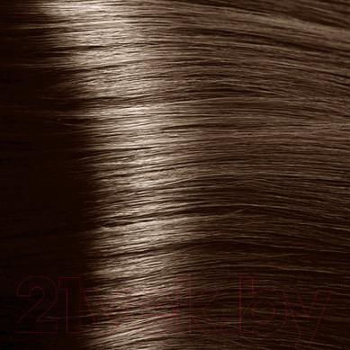 Крем-краска для волос Kapous Studio Professional с женьшенем и рисовыми протеинами 6.0 (темный блонд)