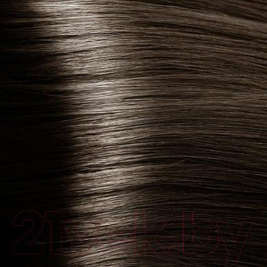 Крем-краска для волос Kapous Studio Professional с женьшенем и рисовыми протеинами 7.1 (пепельный блонд)
