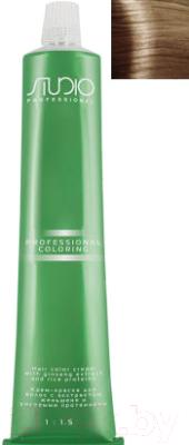 Крем-краска для волос Kapous Studio Professional с женьшенем и рисовыми протеинами 8.0 (светлый блонд)