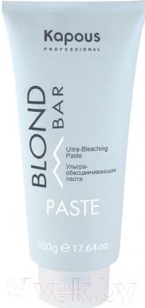 Крем для обесцвечивания волос Kapous Ультра-обесцвечивающая Blond Bar 1589 (500мл)