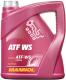 Жидкость гидравлическая Mannol ATF WS Automatic Special / MN8214-4 (4л) -