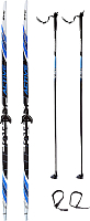 Комплект беговых лыж STC Step 0075 150/110 -