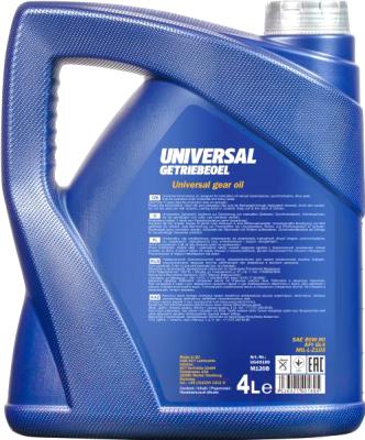 Трансмиссионное масло Mannol Universal 80W90 GL-4 / MN8107-4 (4л)