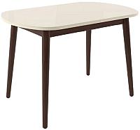 Обеденный стол Импэкс Leset Акра 1Р (венге/кремовый) -