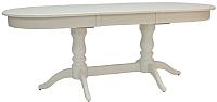Обеденный стол Импэкс Leset Вашингтон 2Р 1013 (слоновая кость) -