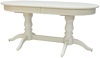 Обеденный стол Импэкс Leset Каролина 1Р 1013 (слоновая кость) -