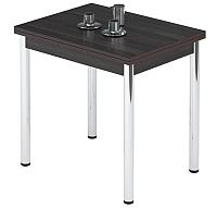 Обеденный стол Импэкс Leset Марсель 2Р (метал хром/венге) -