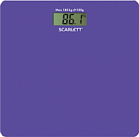 Напольные весы электронные Scarlett SC-BS33E042 (сиреневый) -