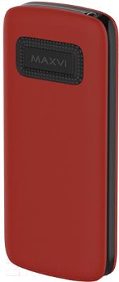 Мобильный телефон Maxvi С23 (красный/черный)