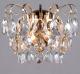 Бра Евросвет Crystal 10081/2 (золото/прозрачный хрусталь) -
