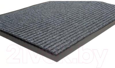 Коврик грязезащитный Kovroff Стандарт ребристый 50x80 / 20202 (серый)
