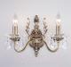 Бра Евросвет Elisha 3281/2 (античная бронза/прозрачный хрусталь) -