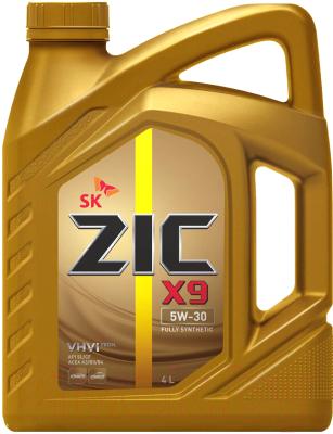 Моторное масло ZIC X9 5W30 / 162614 (4л)
