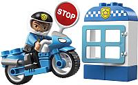 Конструктор Lego Duplo Полицейский мотоцикл 10900 -