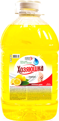 Средство для мытья посуды Хозяюшка Лимон средство для мытья посуды herr klee лимон и ромашка 1 л