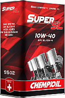 Моторное масло Chempioil Super SL 10W40 API SL/CH-4 / CH9502-4ME (4л) -