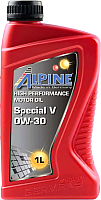 Моторное масло ALPINE Special V 0W30 / 0101641 (1л) -