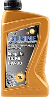 Моторное масло ALPINE Longlife 12 FE 0W30 / 0101481 (1л) -