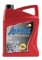 Моторное масло ALPINE RSi 5W30 / 0101623 (5л) -