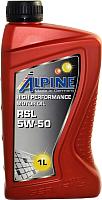 Моторное масло ALPINE RSL 5W50 / 0101420 (1л) -