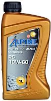 Моторное масло ALPINE RS 10W60 / 0100201 (1л) -