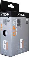 Мячи для настольного тенниса STIGA Cup ABS (6шт) -
