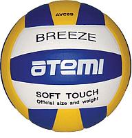 Мяч волейбольный Atemi Breeze Microfiber (синий/жёлтый/белый) -
