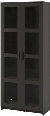 Шкаф с витриной Ikea Бримнэс 504.098.88